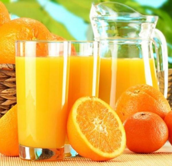 Suco de laranja com Gérmen de Trigo