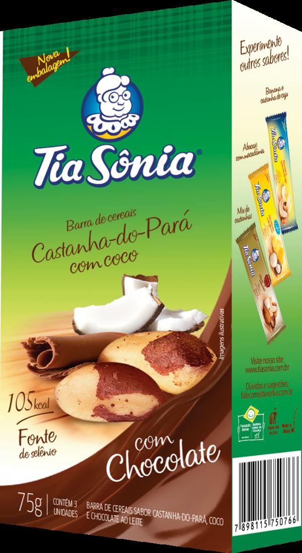 Barra Castanha do Pará e Coco com Chocolate