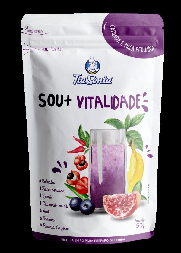 Bebida funcional SOU + Vitalidade